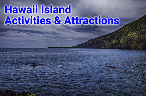 Activities in Hawaii on the Big Island - B. Inouye