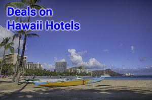 Three night stays at Hawaii hotels start at $394, icluding all taxes.