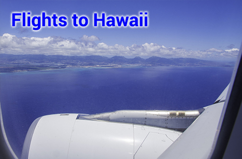 Flights to Hawaii - B. Inouye 480x315