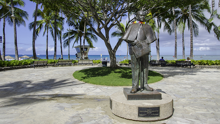One of the monarchs honored in Hawaii holidays.