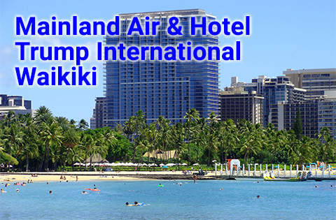 Trump Waikiki - Image courtesy of Trump International Hotel Waikiki Sales