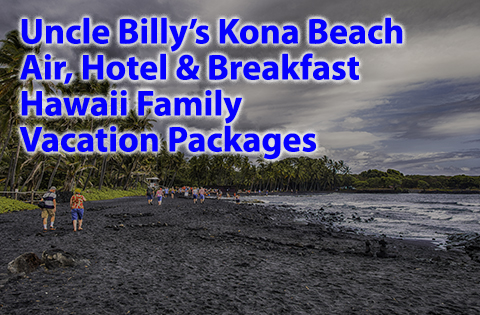 Uncle Billy's Kona Beach Air Hotel & Breakfast Hawaii Family Vacation Packages 480x315 - B. Inouye