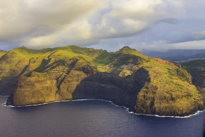 View from Hawaii helicopter tours.