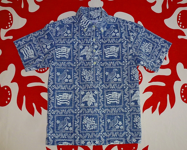 One example of aloha shirts.