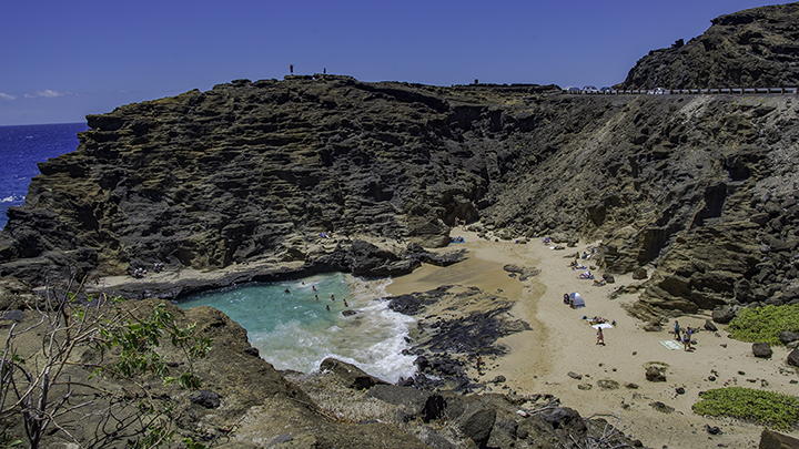 "One of the Hawaii film locations for ""From Here to Eternity."""