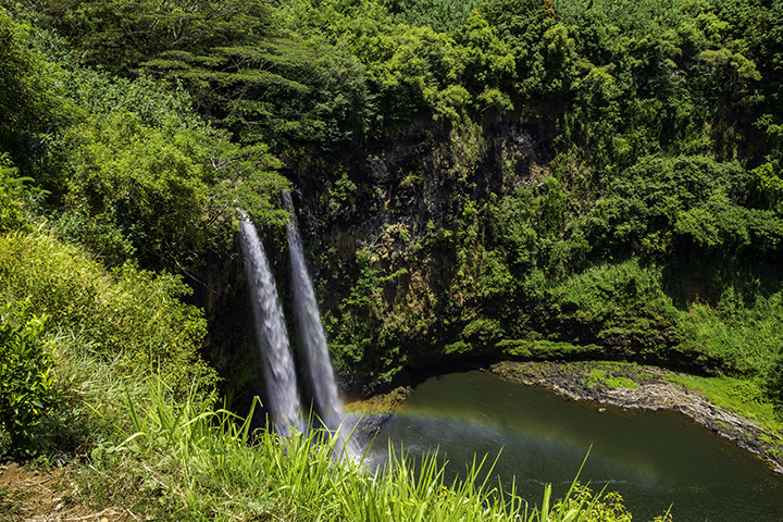 One of the more accessible Hawaiian waterfalls.