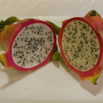 Dragon fruit, one of the items you can get at Big Island famer's markets.