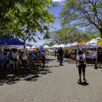 Farmers market in Honolulu