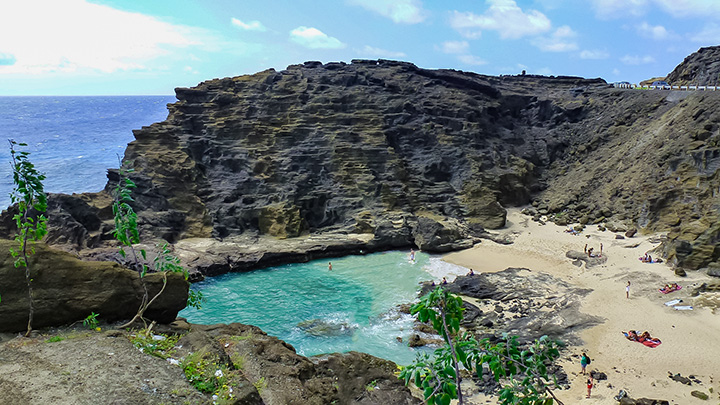Halona Cove. a great hidden beach for your family to enjoy.