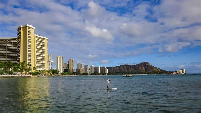 Exercise, a reason why Hawaii is the healthiest state.