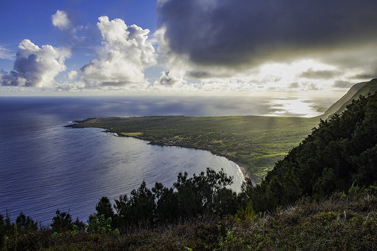 Attractions on Molokai - Kalauapapa Peninsula
