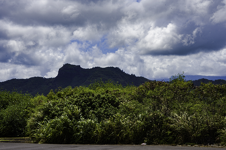 The Sleeping Giant, another one of the hiking trails on Kauai.