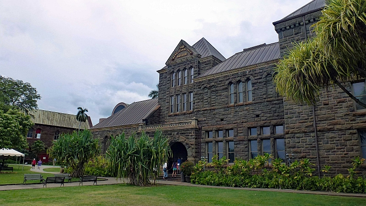 The Bishop Museum, one of the most visited museums on Oahu.