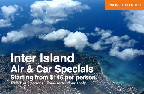 Hawaii Interisland Fly Drive Specials