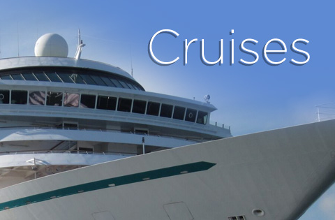 Cruise specials start from $499 per person, double occupancy without airfare.