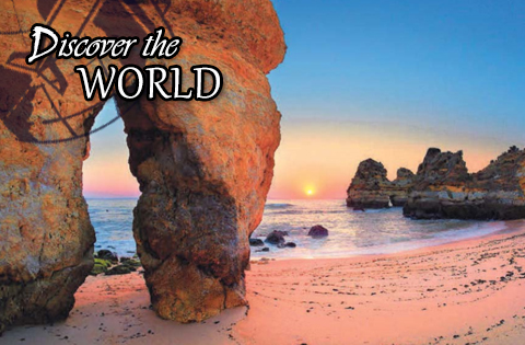Discover the World tours start at $1,795 per person, quadruple occupancy.